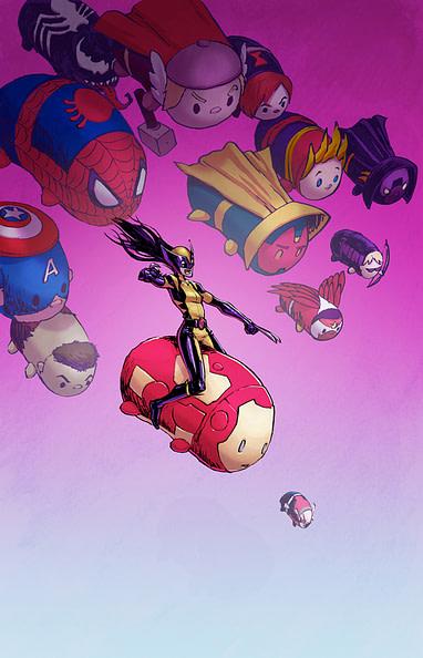 The Mighty Thor #10 Natacha Bustos Tsum Tsum Variant Marvel Comic