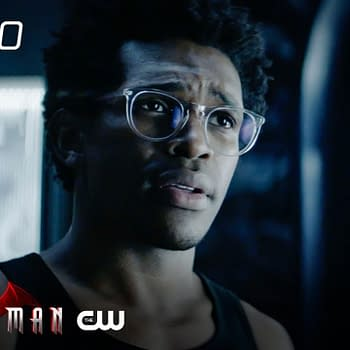 Camrus Johnson as Luke Fox on Batwoman, courtesy of The CW.