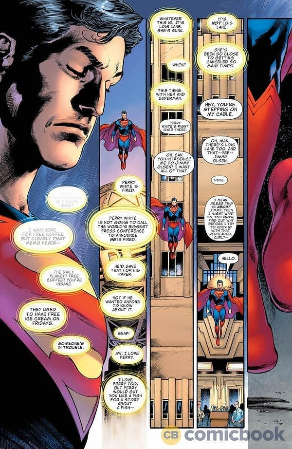 How Might Clark Kent Secret Identity Reveal In Superman #18 Defeat Year Of The Villain?