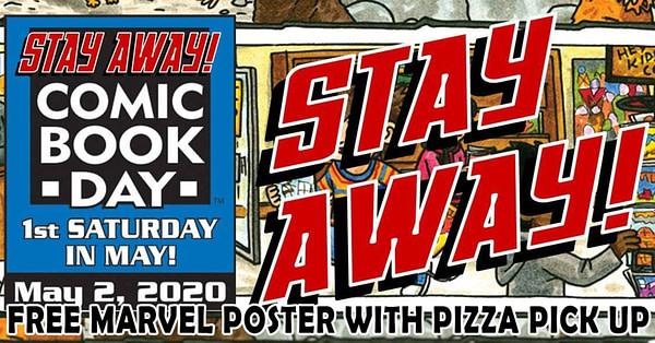 Ramassez vos bandes dessinées avec votre pizza et éloignez-vous de la journée de la bande dessinée.