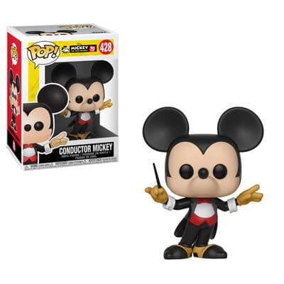 Funko Disney Firefighter Mickey Pop