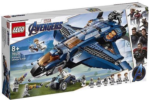 LEGO Avengers Endgame Ultimate Quinjet 1