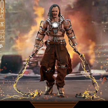 Hot Toys SDCC 2020 &#8211 Iron Man 2 Whiplash and Mark IV Armor