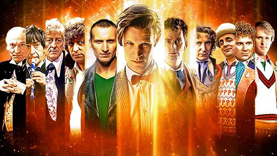 doctor who 50th montage image