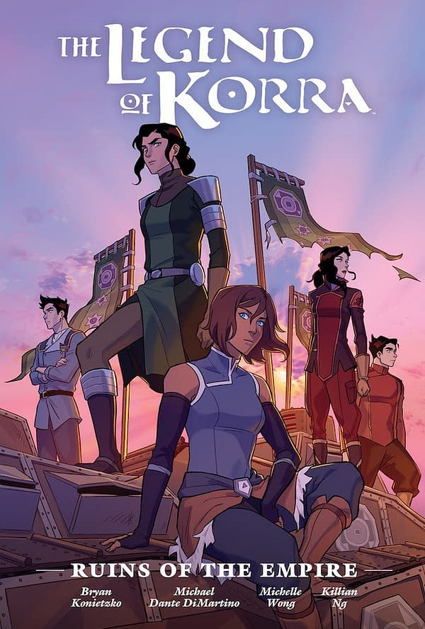Dark Horse Announces Library Edition for Legend of Korra: Ruins of the Empire
