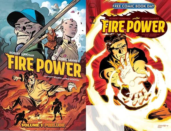 Image Comics' Free Comic Book Day Title, Fire Power, Won't Wait.