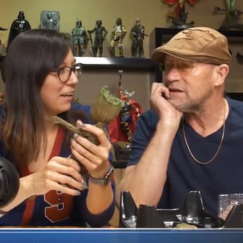 Watch: Michael Rooker Unboxes Sideshows Baby Groot Figure