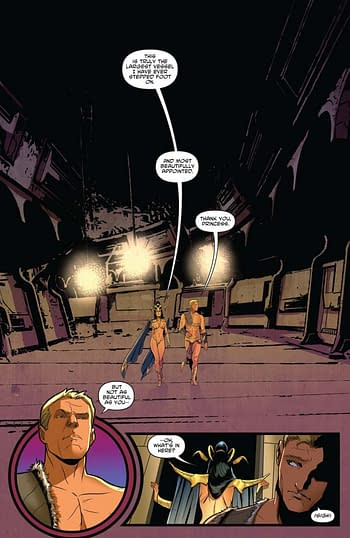 Interior art from Dejah Thoris Vol. 2: Dejah Rising! from Dynamite
