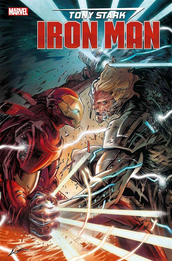 Now Christos Gage Joins Dan Slott on Tony Stark: Iron Man