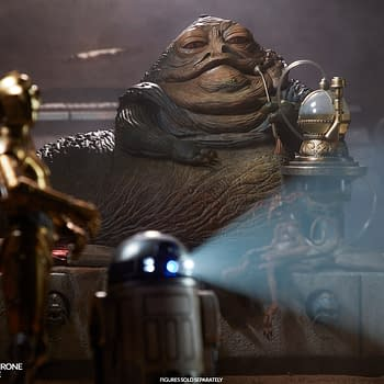 Star Wars Villain Jabba the Hutt Joins Sideshow Collectibles Sixth Scale Figure Line