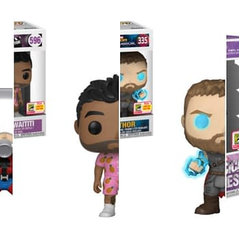 Marvel Funko SDCC Collage