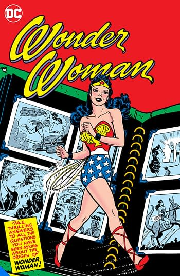 Wonder Woman in the fifties, one of many DC Big Books in 2020 and 2021