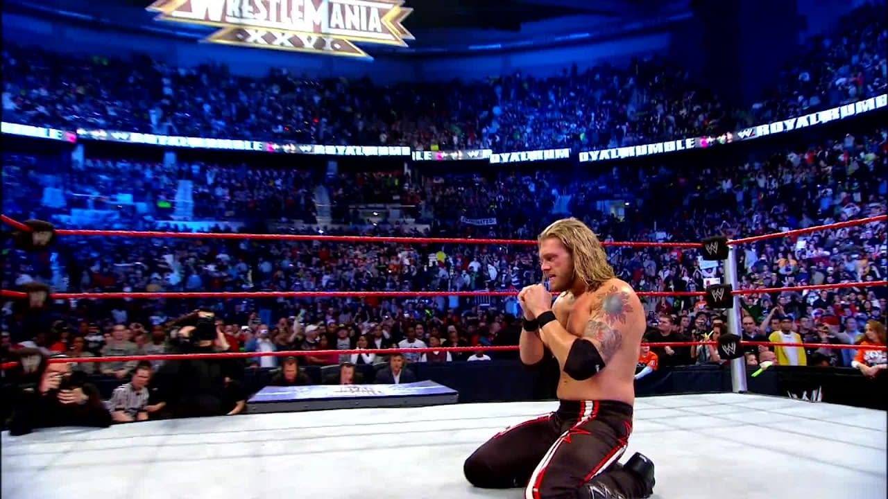 2010 Royal Rumble Edge
