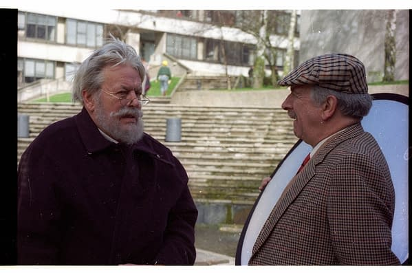 Jack Watling & Nicholas Courtney in Downtime