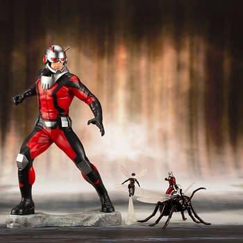 Ant Man and Wasp Kotobukiya Statue 1
