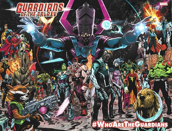 A League of Extraordinary Guardians of the Galaxy from Donny Cates and Geoff Shaw: #WhoAreTheGuardians?