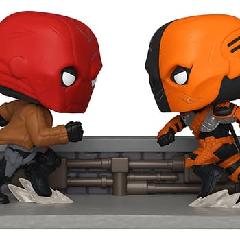 Deathstroke Takes on the Red Hood in SDCC 2020 Funko Exclusive