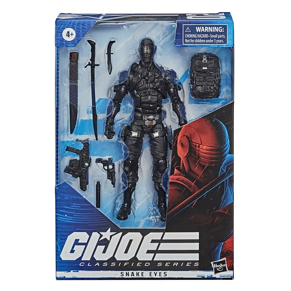 Snake Eyes GI JOE Classified Series