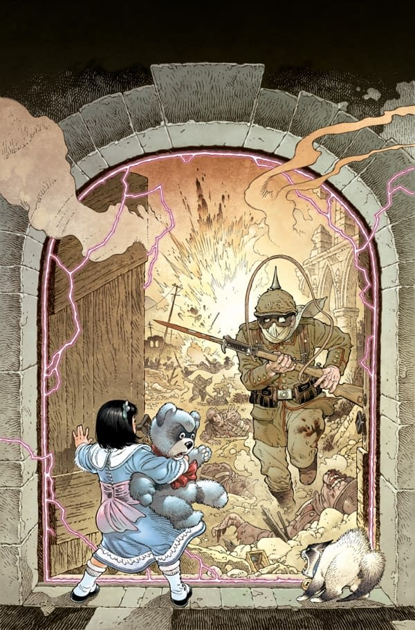 Art from Locke & Key: …In Pale Battalions Go…#1 (of 2) published by IDW Publishing.