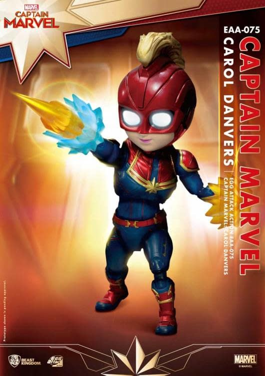 Beast Kingdom Captain Marvel Egg Attack Previews Exclusive 1
