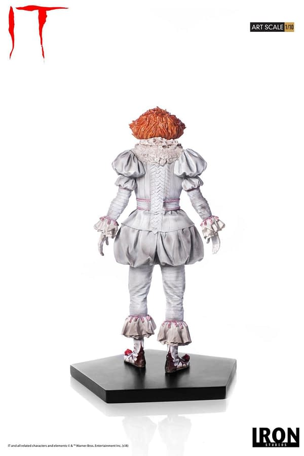 Pennywise Iron Studios Regualr Edition 6
