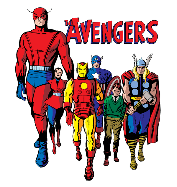 The Avengers by Jack Kirby