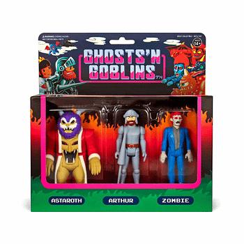 Super7 Ghosts and Goblins Set 1