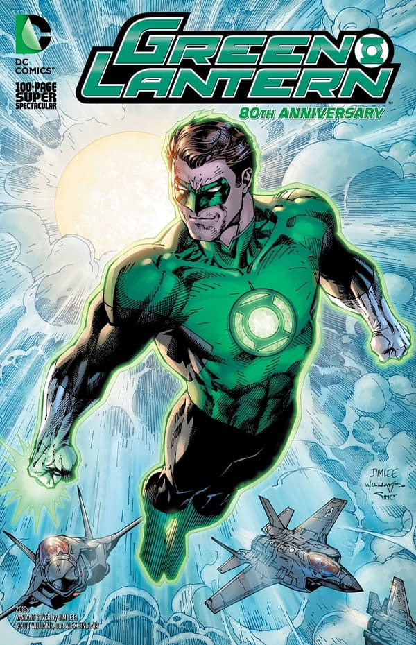 Green Lantern 80th Anniversary Special #1 2010's Variant Cover