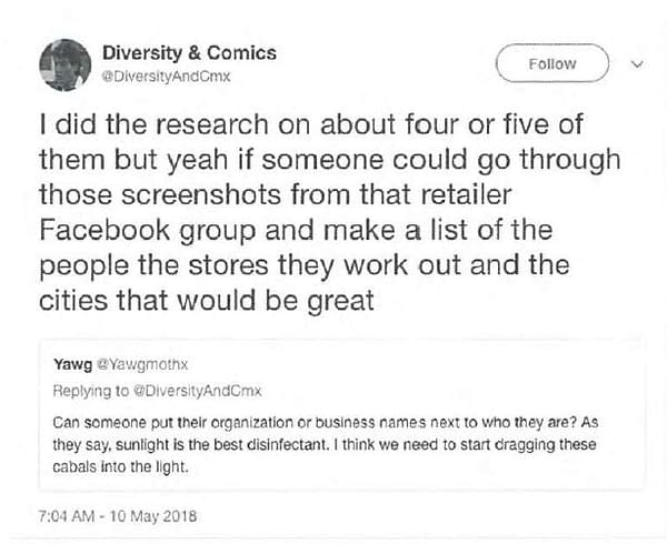 Antarctic Publisher States On Oath Mark Waid Didn't Prevent Them Publishing Jawbreakers