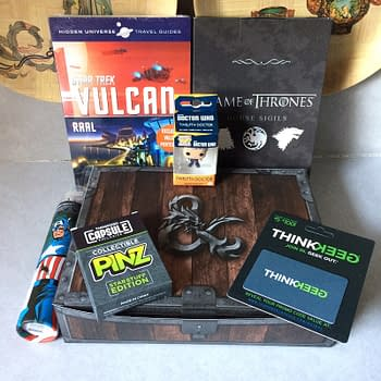 Whats In The Box: ThinkGeek Capsule &#8211 July 2017