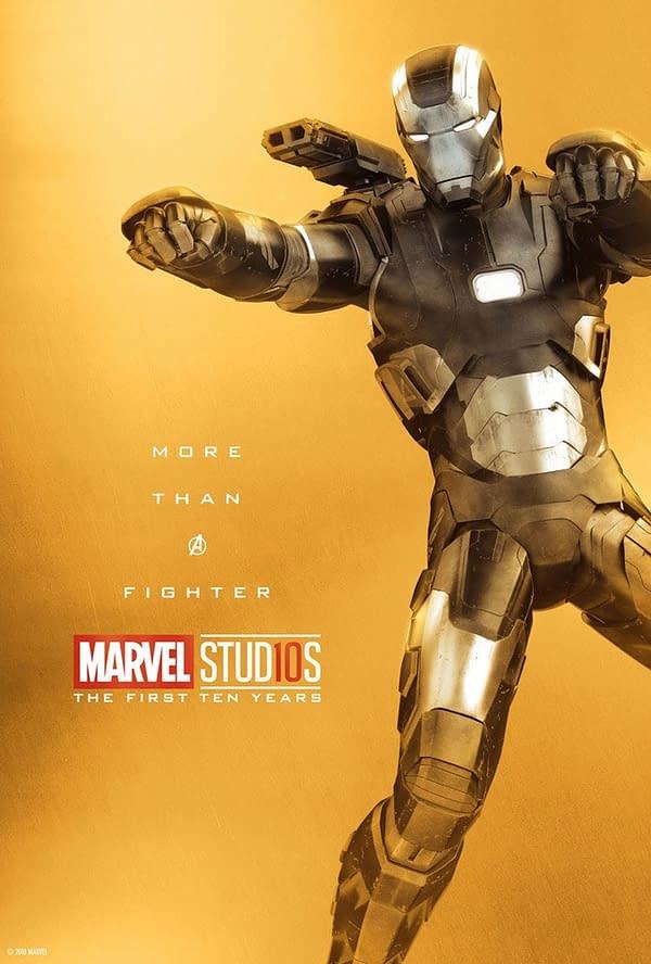 Marvel Studios More Than A Hero Poster Series War Machine