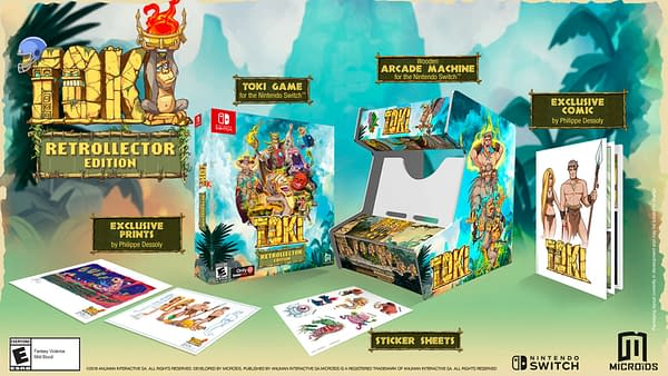 Review: Toki Retrollector Edition for Nintendo Switch