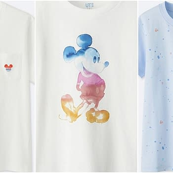 uniqlo mickey t-shirts