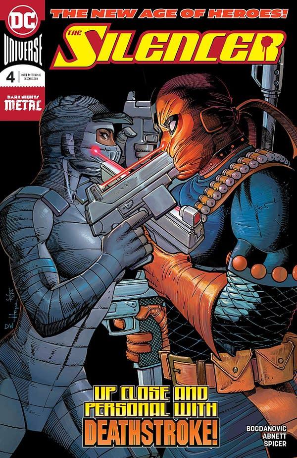 Silencer #4 cover by John Romita Jr., Sandra Hope, and Dean White