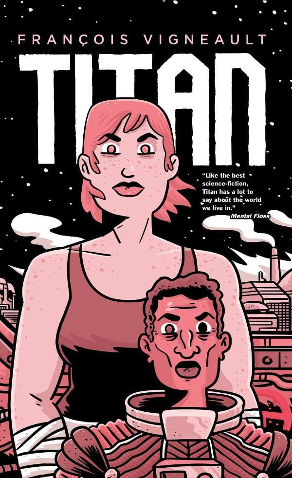 Oni Press Brings French Canadian Graphic Novel Titan to U.S. in September