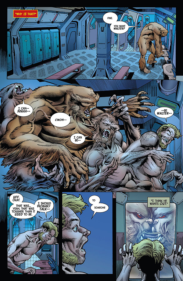 The Immortal Hulk #5 art by Joe Bennett, Ruy Jose, and Paul Mounts