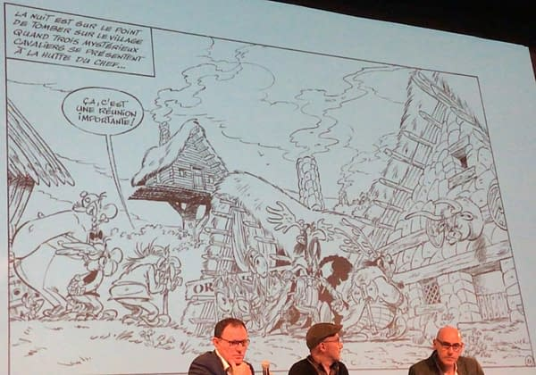 So Who Is Vercingetorix's Daughter in the new Asterix?