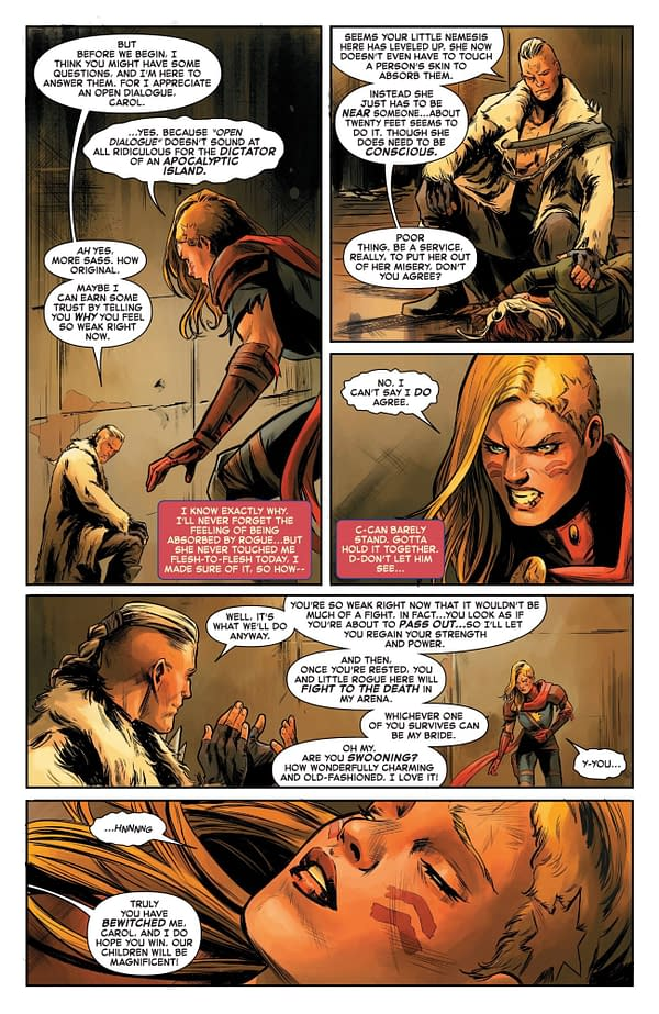 'Captain Marvel'#4: Rogue Goes Full Carol Danvers *SPOILERS