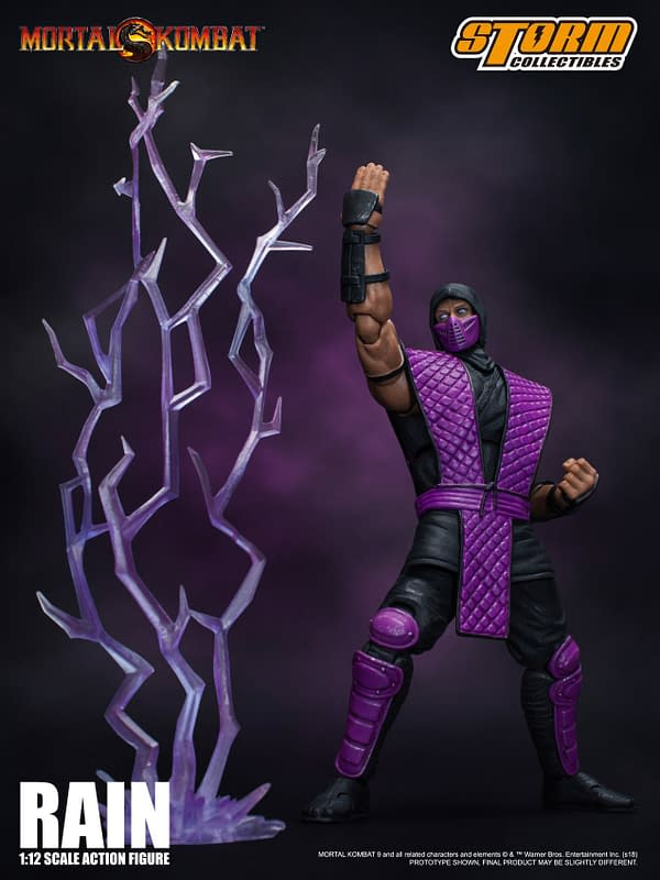 NYCC Storm Collectibles Mortal Kombat Rain Exclusive 8