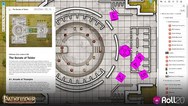 Familiar Settings and New Options: We Review Pathfinder on Roll 20