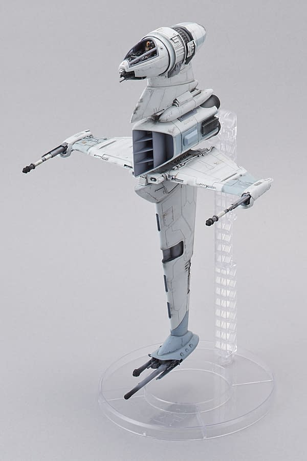 Bandai Star Wars B Wing Model Kit SDCC Exclusive