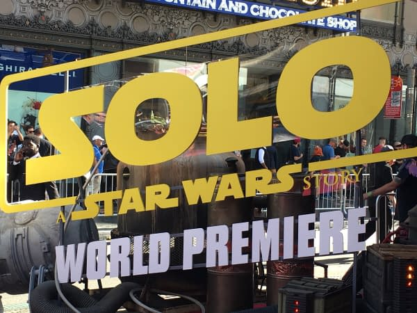 Watch: Live From 'Solo: A Star Wars Story' Red Carpet In Los Angeles