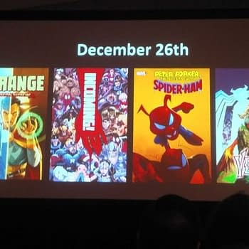 Christmas Week In Comic Shops - Finales for East Of West and Fight Club, Launches for Dr Strange, Kill Lock and Spider-Ham, Venom Island Begins and... Incoming