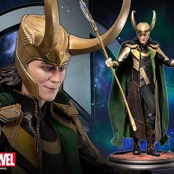 Loki Celebrates Marvel Studios with New Kotobukiya Statue
