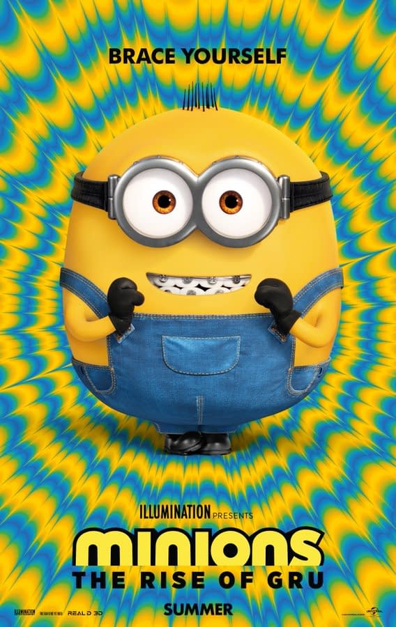'Minions: The Rise of Gru': Watch the Full Trailer For the Minions Return This Summer