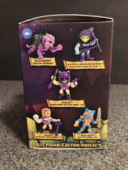 12 In Hand The Loyal Subjects-Masters of the Universe wave 2 Display box
