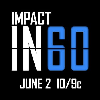The logo for Impact in 60 on AXS TV