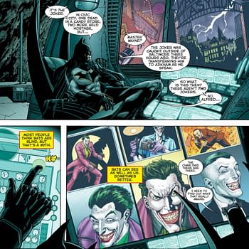 Jason Fabok is Drawing Pages for Geoff Johnss Three Jokers Right Now
