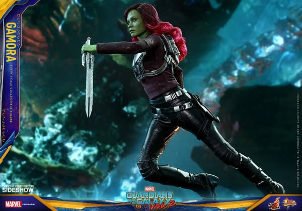 Hot Toys Guardians Vol. 2 Gamora 8