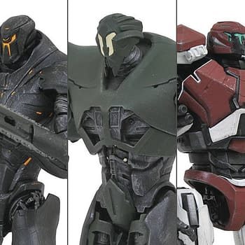 Pacific Rim Uprising Gets a Second Wave of Figures from Diamond Select